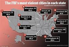 st louis city tops fbi s list of most dangerous urban centers in america daily mail online
