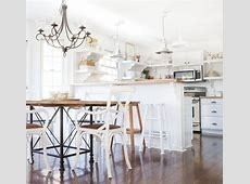 Beadboard Kitchen Peninsula Design Ideas