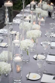 deco table argent d 233 coration de mariage argent et blanche