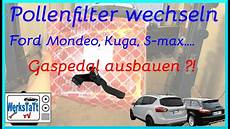 ford mondeo mk4 s max galaxy pollenfilter wechseln