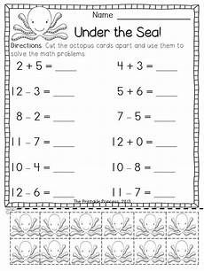 free math addition and subtraction worksheets for 1st grade 9910 addition and subtraction worksheets with counters bundle math for grade subtraction