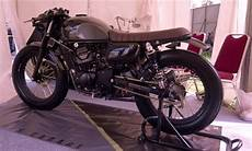 Kawasaki W175 Modif Cafe Racer by Modifikasi Kawasaki W175 Custom Cafe Racer Oleh Katros