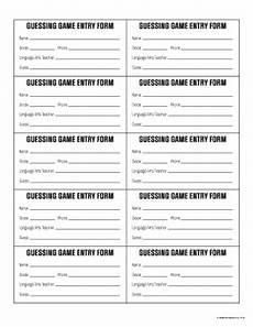 contest entry forms template blank entry form fill out and sign printable pdf template signnow