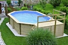pool aus holz selber bauen garten pool selber bauen eine verbl 252 ffende idee