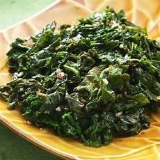 kale receipt basic sauteed kale recipe eatingwell