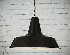schwarze pendelleuchte schwarze industriestil pendelleuchte 40 cm mit kette