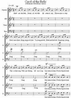 carol of the bells libera sheet music the 25 best carol of the bells ideas pinterest