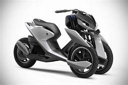 Yamaha 03GEN Concept 3 Wheeled Scooter Never Looked This