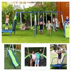 kid swing set outdoor swing set kid playground swingset playset slide