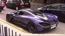 mclaren p1 purple carbon purple mclaren p1 driving in