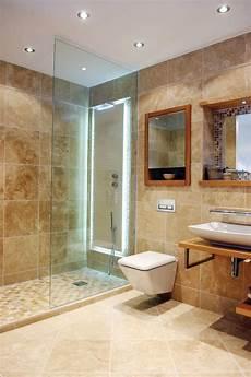 carrelage salle de bain travertin d 233 co de salle de bain moderne beaumont maison