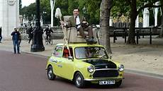 Mr Bean Takes His Mini For A Royal Spin For His 25th