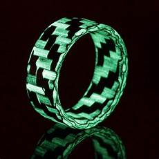glow wedding rings glow rings with carbon fiber more element ring co
