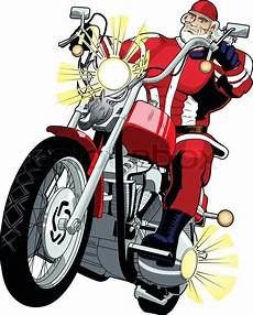 weihnachtsmann auf motorrad gif santa on a motorcycle clipart png and cliparts for free