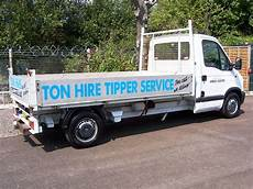 tipper trucks ton hire