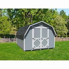 kti8x8 classic gambrel 8x8 storage shed kit 8x8 cwgb 4 wpnk