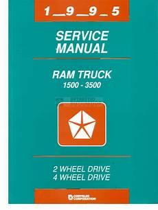 car repair manuals online pdf 1995 dodge ram 1500 club regenerative braking 1995 dodge ram service manual pdf