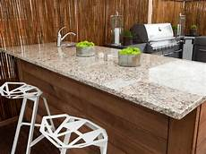 Outdoor Kitchen Counter outdoor kitchen countertops pictures tips expert ideas