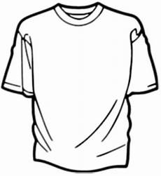 T Shirt Malvorlagen Kostenlos T Shirt Malvorlage Ausmalbild Kostenlos