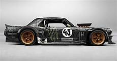 ford mustang ken block ken block s wildly modded 65 mustang puts out a