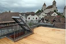 Terrasse Im Dach - metall werk z 252 rich ag dachterrasse mit dachausstieg