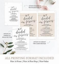calligraphy script wedding invitation suite diy c1