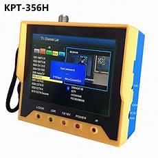 kpt 356h dvb s2 satfinder fast tracking hd digital