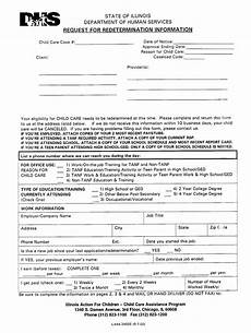 child care redetermination form fill online printable