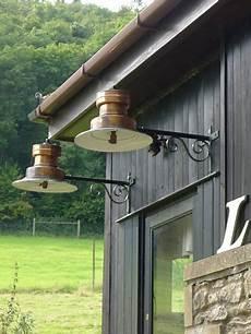 large brass bracket wall lights decorative collective