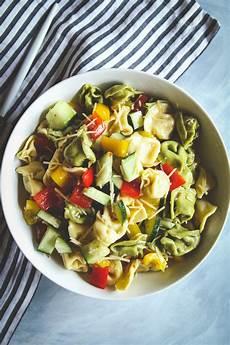 Tortellini Salat Rezept - the best 5 ingredient tortellini pasta salad recipe sweetphi
