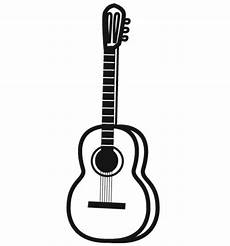 ausmalbild musik gitarre kostenlos ausdrucken