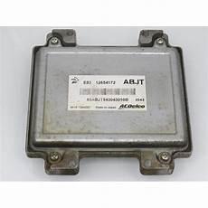 opel adam allegro komputer ecu opel adam 1 4 12654172 abjt e83