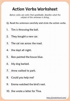 action verbs worksheets 3rd grade your home teacher