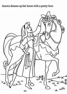 Malvorlage Prinzessin Pferd Princess Princess Coloring