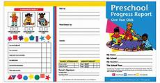 card template preschool preschool progress reports 10pk for 1 year olds h prc09