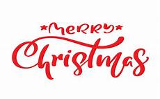 merry christmas vintage calligraphy lettering vector text for art template design list page