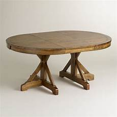 to oval x base extension table world market