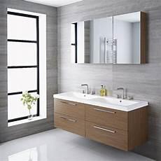 bagni per cer meuble salle de bain vasque 144x51x55cm langley ch 234 ne