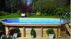 piscine semi enterrée bois prix prix d une piscine en bois co 251 t moyen tarif d installation