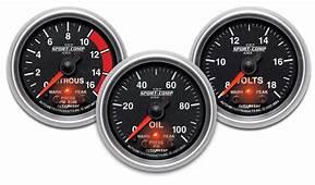 AutoMeter 3677 Sport Comp II Pro Control Vacuum / Boost