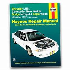 free car repair manuals 1997 chrysler lhs windshield wipe control haynes repair manual for 1994 1997 chrysler lhs shop service garage book sn ebay