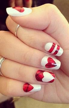 55 cute valentine nail art designs to wear your feelings