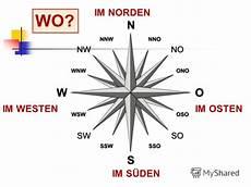 Norden Westen Süden Osten - презентация на тему quot 3 reise nach deutschland 3b an