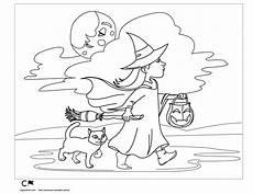 Zauberer Malvorlagen Pdf Littlewitchtrickortreatbw Png 1650 215 1275 Mit Bildern