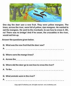 grade 1 english comprehension worksheets search grade 1 english comprehension