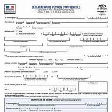 que faire du certificat de cession d un véhicule d occasion documents d une demande d enregistrement d une cession
