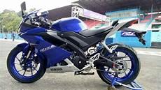 Modifikasi Motor R15 2018 by Koleksi 68 Modifikasi Motor Yamaha R15 Biru Terunik