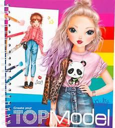 Top Model Heft - topmodel livre 224 colorier create your topmodel lexy et nadja
