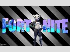 Fortnite P.A.N.D.A. Team Leader Wallpaper HD 1080p