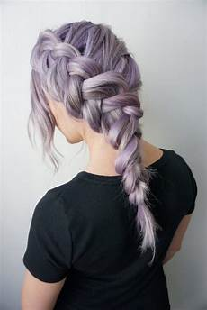clip in hair extensions for a side braid cute